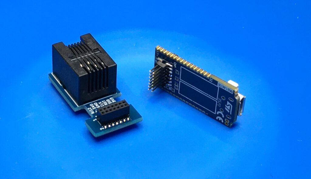 STLINK_V3 adapter complete